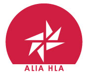 Australian Library and Information Association Health Libraries Australia logo