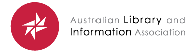 Australian Library and Information Association logo
